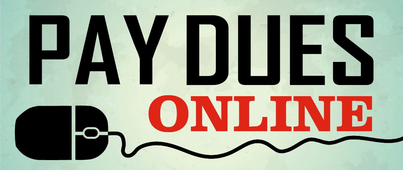 Pay Dues Online banner